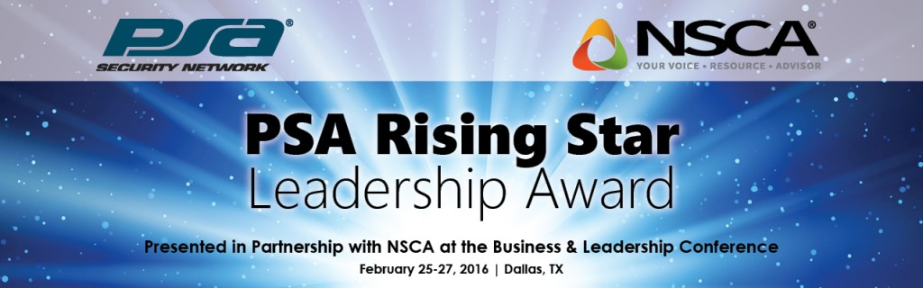 PSA Rising Star Leadership Award 1282x400
