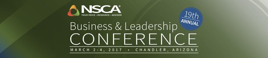 NSCA 2017 BLC Banner