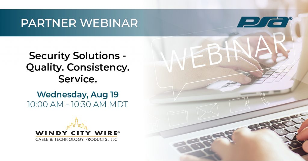 Windy City Wire Webinar